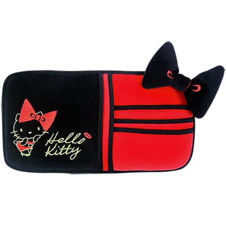【享夢城堡】HELLO KITTY 紅唇系列-多功能遮陽板套夾