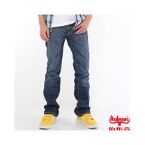 【BOBSON】男款低腰喇叭牛仔褲(2色)