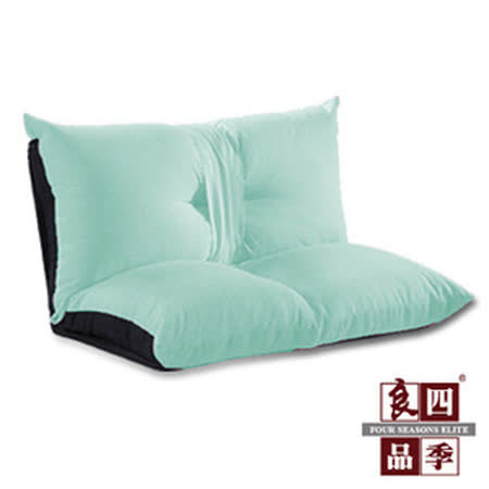 【四季良品】蝶舞雙人沙發和室椅-純靚藍