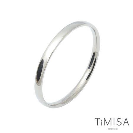 【TiMISA】純真-厚 純鈦手環