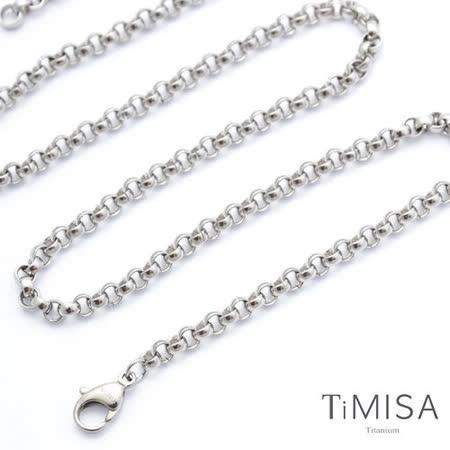 【TiMISA】風之戀(S) 純鈦項鍊