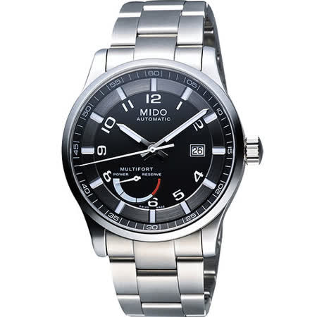 MIDO Multifort Gent 先鋒系列動力儲存機械腕錶(M0054241105202)