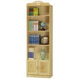 樟子松雙門書櫃