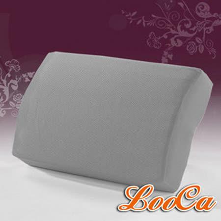 【LooCa】吸濕排汗釋壓午安枕(灰)