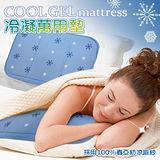 棉花田【雪の宿】Cool Gel Mattress春亞紡清涼紗低反發冷卻萬用墊(30x40cm)