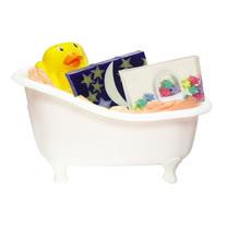 【草本24】手工精油皂任選2塊  送小鴨皂盤+置物小浴缸