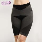【安吉絲】竹碳機能無縫立體翹臀顯瘦束褲/M-XL(黑色)