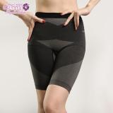 【安吉絲】竹碳機能無縫立體翹臀顯瘦束褲/M-XL(灰色)