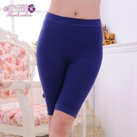【安吉絲】竹碳機能無縫立體翹臀顯瘦束褲/M-XL(紫藍)
