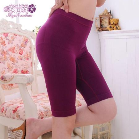 【安吉絲】竹碳機能無縫立體翹臀顯瘦束褲/M-XL(酒紅)