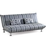 顛覆設計 貴族高質透氣絨布沙發床(可拆洗)