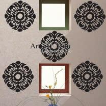 Art STICKER壁貼 。 Baroque (F027) 設計裝潢璧紙璧貼