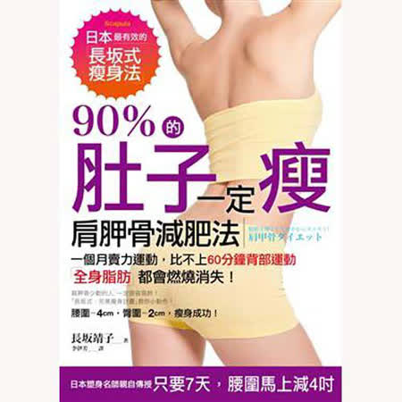 90%的肚子一定瘦:肩胛骨減肥法,肥肉、脂肪都會燃燒消失!