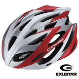 Exustar 23孔自行車專用安全帽(紅)