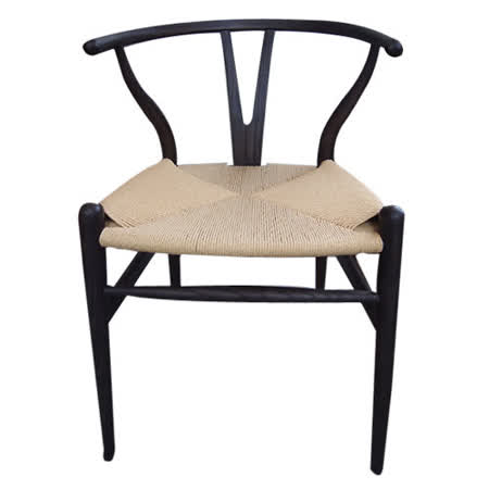 Y CHAIR ( MIT )餐椅Hans J. Wegner CH24紙藤坐墊 餐椅/書桌椅