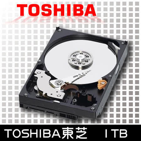 TOSHIBA東芝 1TB 32M 7200轉 3.5吋內接硬碟