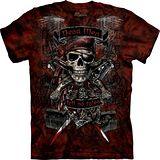 『摩達客』美國進口【The Mountain】自然純棉系列 骷髏王 設計T恤 (預購)