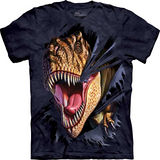 『摩達客』美國進口【The Mountain】自然純棉系列 突破雷克斯 設計T恤 (預購)