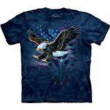 『摩達客』美國進口【The Mountain】自然純棉系列 宣示飛鷹 設計T恤 (預購)