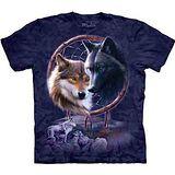 『摩達客』美國進口【The Mountain】自然純棉系列 捕夢狼 設計T恤 (預購)