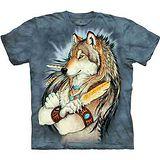 『摩達客』美國進口【The Mountain】自然純棉系列 金狼羽毛 設計T恤 (預購)
