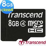 創見Transcend 8GB microSDHC CLASS4 記憶卡 內附轉卡