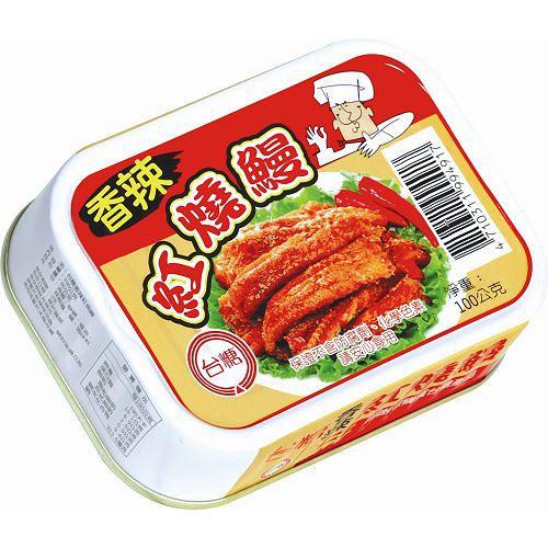 台糖香辣紅燒鰻100g*3入
