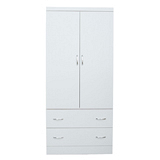 【LOHA】新樂生活改良式3x6衣櫃(白色)