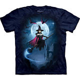 『摩達客』美國進口【The Mountain】自然純棉系列 女巫飛行設計T恤 (預購)
