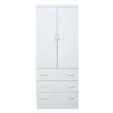 【LOHA】新樂生活改良式3x7衣櫃(白色)