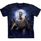 『摩達客』美國進口【The Mountain】自然純棉系列 殭屍群設計T恤 (預購)