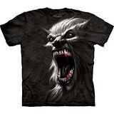 『摩達客』美國進口【The Mountain】自然純棉系列 狼人設計T恤 (預購)