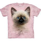 『摩達客』美國進口【The Mountain】自然純棉系列 黑棕小貓設計T恤 (預購)