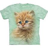 『摩達客』美國進口【The Mountain】自然純棉系列 小貓像設計T恤 (預購)