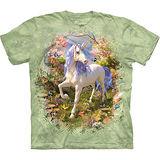 『摩達客』美國進口【The Mountain】自然純棉系列 獨角獸森林設計T恤 (預購)