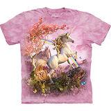 『摩達客』美國進口【The Mountain】自然純棉系列 絕美獨角獸設計T恤 (預購)