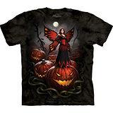 『摩達客』美國進口【The Mountain】自然純棉系列 萬聖節妖精設計T恤 (預購)