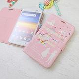 【Happymori】※Falling in love ♡※ 側開手機皮套 適用iphone4s/4 Galaxy S2 i9100
