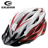 EXUSTAR 19孔自行車專用安全帽 (紅)