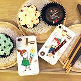 【Happymori】※COOKING COUPLE ♡※  前殼+背殼手機保護殼 適用Apple iPhone 4S/4,Galaxy S2