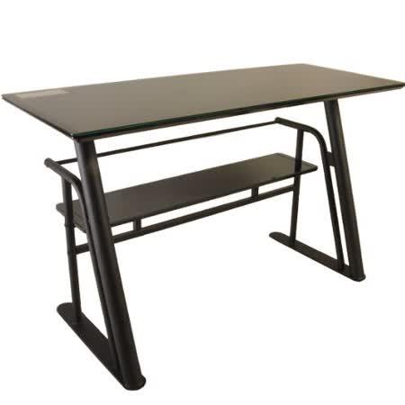 黑騎士強化玻璃電腦桌/工作桌(可選色)