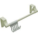 多用途廚櫃衣櫃5連勾掛物架超值2入(A1099X2)