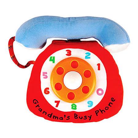 【Read & Play 布書】奶奶的熱線電話