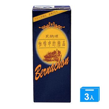 味全貝納頌咖啡375ml*3入