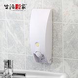 【生活采家】幸福手感純白典雅單孔給皂機#47029