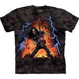 『摩達客』美國進口【The Mountain】自然純棉系列 玩火電吉他設計T恤 (預購)