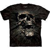 『摩達客』美國進口【The Mountain】自然純棉系列 側骷髏突破設計T恤 (預購)