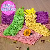 【百鈴】雪尼爾超吸水暖暖地墊*4(40 x 60 cm)+擦手巾*1