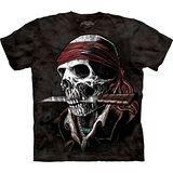 『摩達客』美國進口【The Mountain】自然純棉系列 活骷髏海盜 設計T恤 (預購)