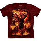 『摩達客』美國進口【The Mountain】自然純棉系列 戰爭之神 設計T恤 (預購)
